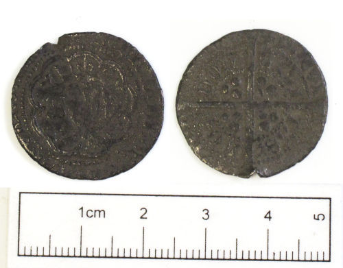 NCL-C85363: Medieval coin: groat of Henry V