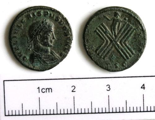 NCL-D720B2: NCL-D720B2: Roman coin: nummus of Crispus
