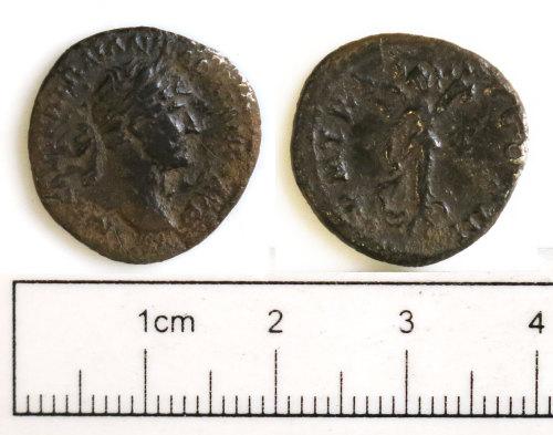 NCL-DBA333: NCL-DBA333: Roman coin: denarius of Hadrian