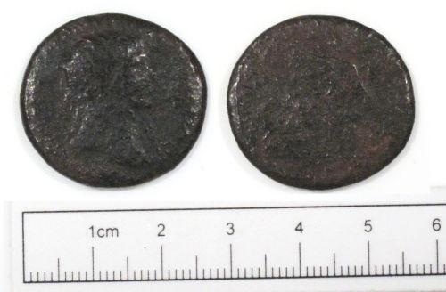 NCL-A69E86: Roman coin: dupondius or as of Trajan