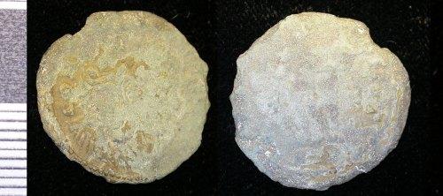 LEIC-6FFD63: Roman copper alloy nummus of Constantine I, reverse type GENIO POPROM