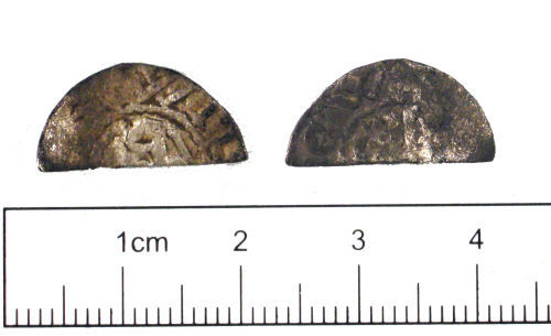 YORYM-57FFD8: Medieval Coin : Scottish penny of William I