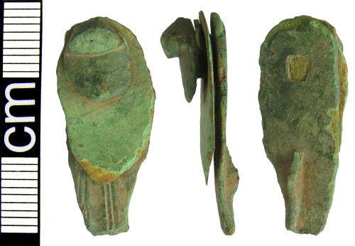 HAMP-BAD476: Iron Age Rosette brooch