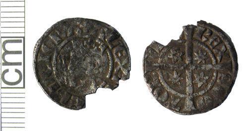 HAMP-DEA867: Medieval coin: Penny of Alexander III