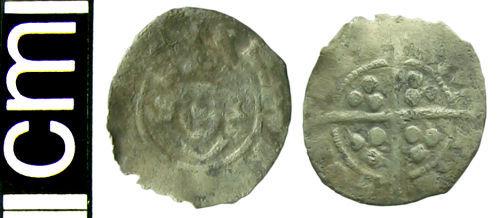 HAMP-FA6F44: Medieval coin: Farthing of Edward I