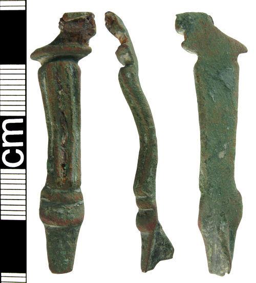 HAMP-FF2BA1: Roman hod hill bow brooch