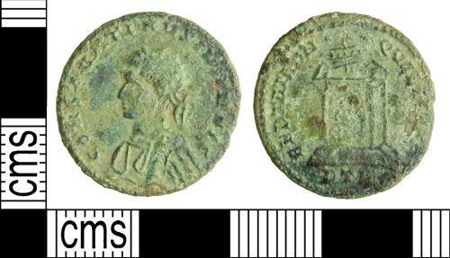 PUBLIC-7FDC14: Roman coin: Nummus of Constantine II
