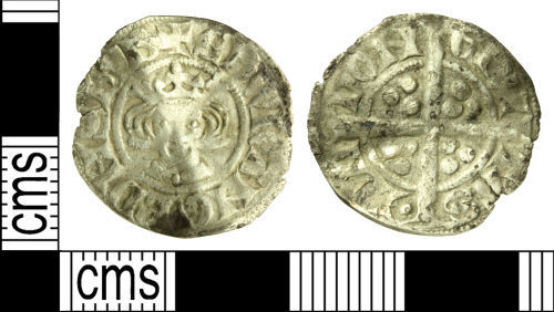WILT-05380C: Medieval coin: Penny of Edward I