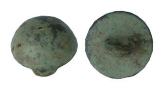 WILT-0765B2: Post-medieval button