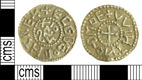 WILT-32A8B3: Early-medieval coin: Penny of Ecgberht