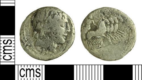 WILT-3FD430: Roman coin: Republican denarius