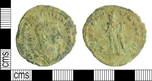 WILT-40DD03: Roman coin: Nummus of Galerius