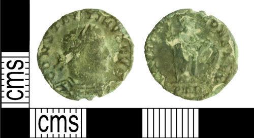 WILT-48D432: Roman coin: Nummus of Constantine I