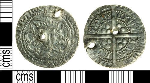 WILT-4D26B6: Medieval coin: Groat of Henry V