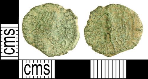 WILT-557294: Roman coin: Barbarous radiate copying Tetricus I or Victorinus