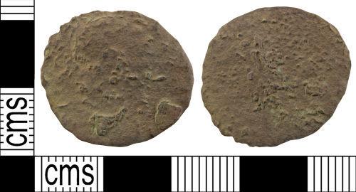 WILT-588D36: Roman coin: As of Claudius II