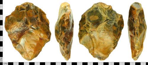 WILT-660D5C: Paleolithic hand axe