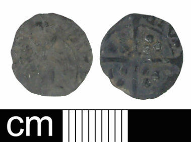 WILT-66B444: Medieval coin: Penny of Richard III