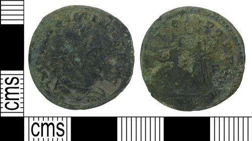 WILT-6EA710: Roman coin: Nummus of Maximinus