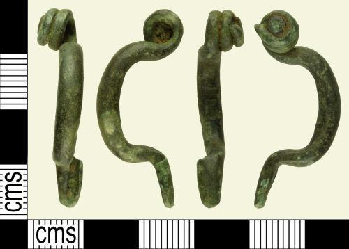 A resized image of Iron Age LA Tene Brooch