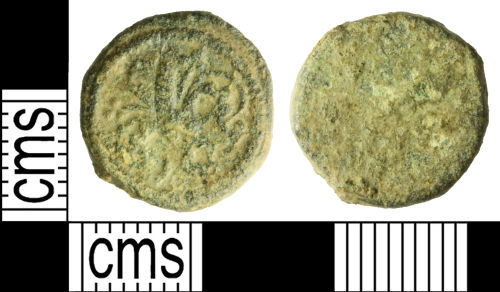 WILT-71944E: Medieval coin weight