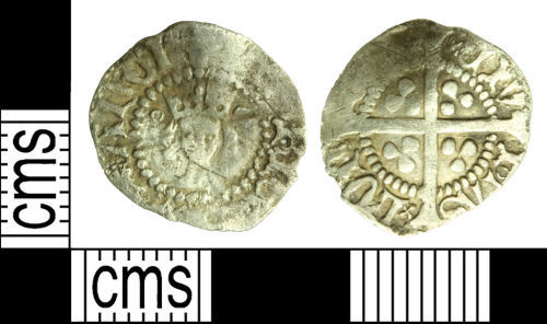 WILT-7263EE: Medieval coin: Halfpenny of Henry V