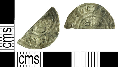 WILT-728166: Medieval coin: Cut halfpenny of Henry III