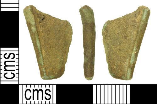 WILT-7343BD: Roman bow brooch foot
