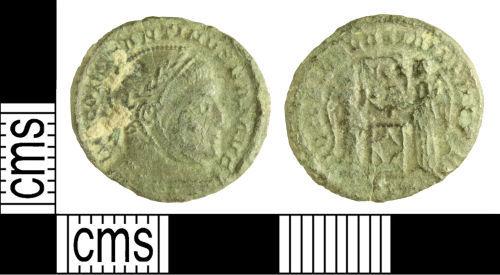 WILT-74156E: Roman coin: Nummus of Constantine I