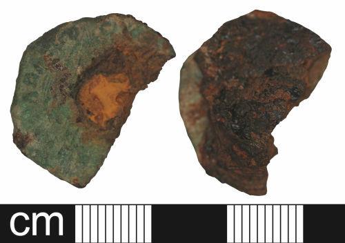 WILT-74BEC1: Roman coin: Nummus of uncertain emperor