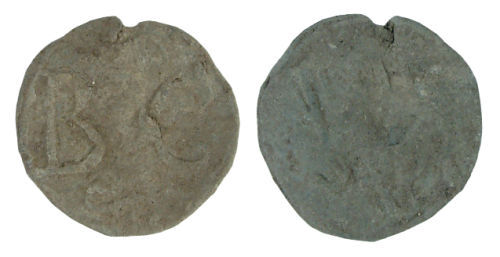 WILT-759F75: Post-medieval lead token