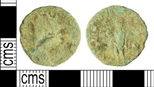 WILT-82ECC4: Roman coin: Radiate of Gallienus