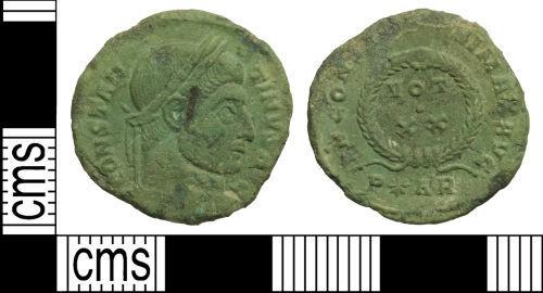 WILT-8B2F76: Roman coin: Nummus of Constantine I