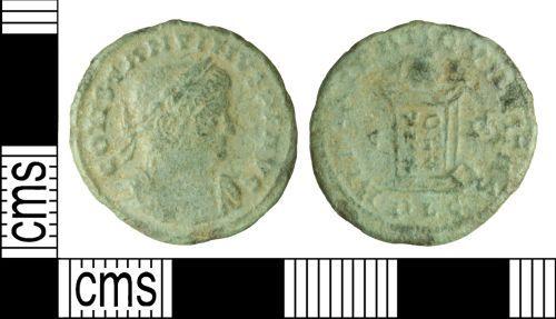 WILT-8EEE64: Roman coin: Nummus of Constantine I