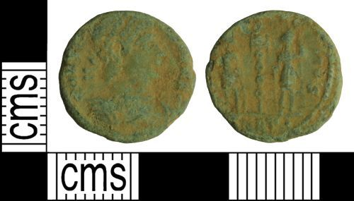 WILT-A75E84: Roman coin: Nummus of the House of Constantine