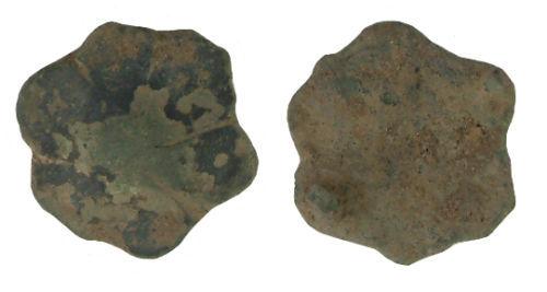 WILT-B583C2: Medieval sexfoil mount