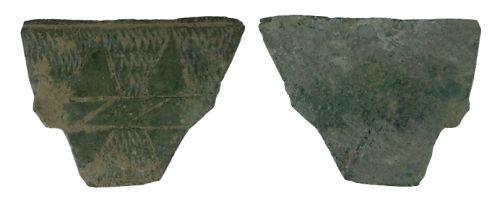 WILT-B62D64: Medieval buckle plate fragment