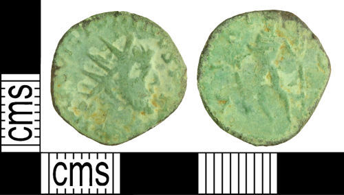 WILT-C3EB1E: Roman coin: Radiate of Victorinus