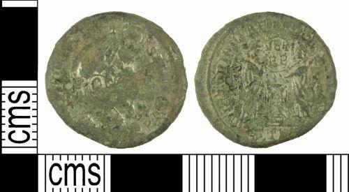 WILT-E18A34: Roman coin: Nummus of Constantine I