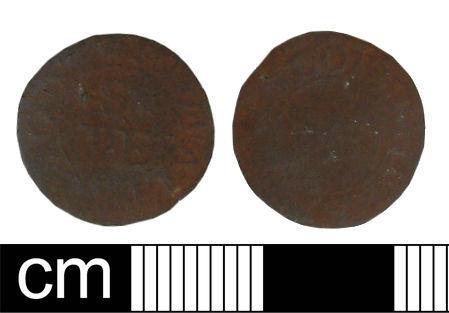 WILT-E1E1D0: Post-medieval traders token