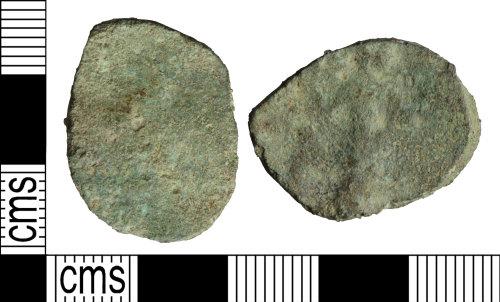 WILT-104E16: Roman coin: As of Claudius I