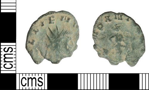 WILT-150C43: Roman coin: Radiate of Gallienus
