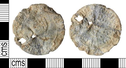 WILT-51AFD8: Medieval to post-medieval Boy Bishop token