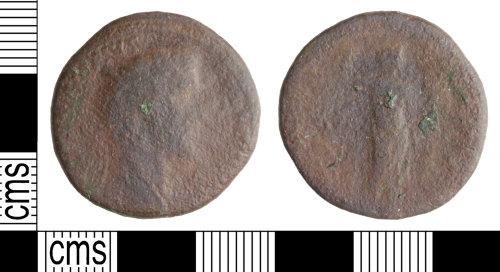 WILT-6191F0: Roman coin: Dupondius of Antoninus Pius