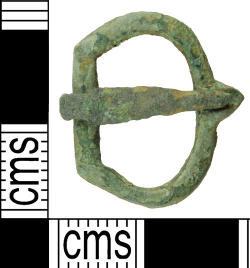 A resized image of Medieval single loop buckle