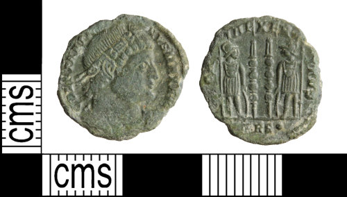 WILT-6A17EB: Roman coin: nummus of Constantine I