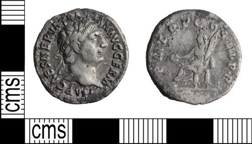 WILT-6AAD79: Roman coin: Denarius of Trajan