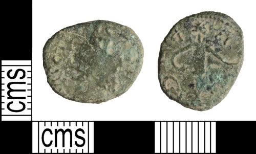 WILT-6D0813: Roman coin: Barbarous radiate