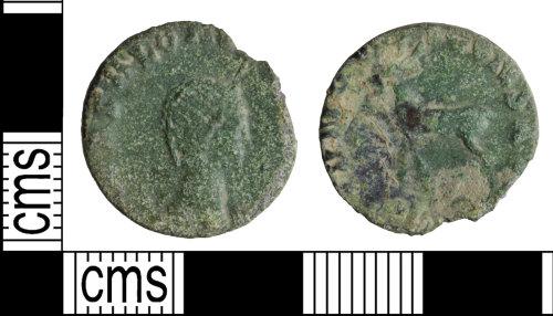 WILT-6D40FD: Roman coin: Radiate of Salonina