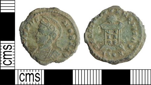 WILT-6EBB0C: Roman coin: Nummus of Crispus
